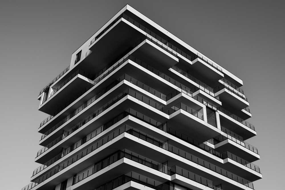 Edificio de apartamentos modernos
